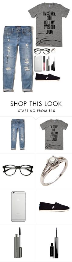"""""""Complex inside me.."""" by jessica-in-reverse-22 ❤ liked on Polyvore featuring Hollister Co., Native Union, TOMS, MAC Cosmetics and Givenchy"""