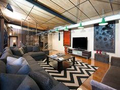 Chic New York style warehouse home In Brisbane