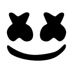 Marshmello face Art Print by BeatDrop - X-Small Marshmello Head, Marshmello Helmet, Marshmallow Costume, Marshmello Wallpapers, Wallpaper World, Face Stencils, Cool Stencils, Face Stickers, Laptop Decal