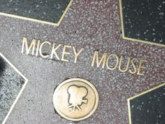DISNEY FUN FACT Mickey Mouse was the first animated character to receive a star on the Hollywood Walk of Fame Walt Disney, Disney Magic, Disney And More, Disney Love, Disney Micky Maus, Disney Fun Facts, Mickey Mouse And Friends, Minnie Mouse, Disney Movies To Watch