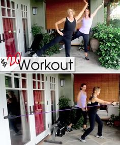 Felicity Huffman's What The Flicaka $20 Workout #7 : Core (Great tips for the busy mom workout)