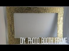 DIY: Photo booth frame - YouTube