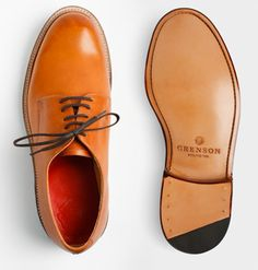 Grenson - Equal amounts cool and classic, courtesy of a British brand that knows both things all too well. $ 415, grenson.co.uk | #Shoes #Style #Fashion |
