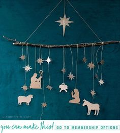 #nativity #paperart #christmas #diychristmasdecor #diychristmasdecorations #svgfile #cricut