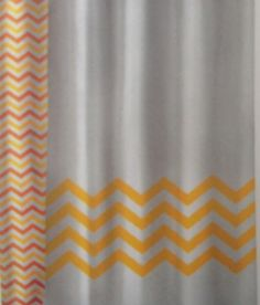 orange chevron shower curtain. Chevron Pattern Orange Shower Curtain  Chevron Patterns Grey Bathrooms And Colorful Bathroom