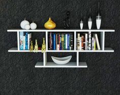 Simple and stylish,bookshelf, is a contemporary and angular design that is perfect for displaying your favourite books and objects. Featuring five shelves,it is sure to add character to you home. Painted with ecological colors and varnish for weather protection.  You can choose the color you like from the pallete. Without international custom fees!  Package includes: 40 screws 10 holders  *the shelf assembled is has dimensions 60cm X 90cm (height X length) *the depth is 15 cm  OTHER…