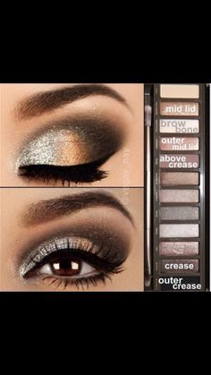 Makeup Tutorials To Do With Your Naked 2 Palette #Beauty #Trusper #Tip