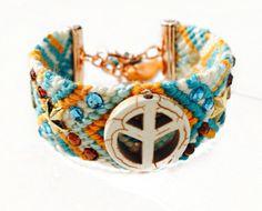 myMyla armband Peace turquoise , Market, HippyMarket