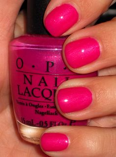 Nail art is a very popular trend these days and every woman you meet seems to have beautiful nails. It used to be that women would just go get a manicure or pedicure to get their nails trimmed and shaped with just a few coats of plain nail polish. Get Nails, Love Nails, How To Do Nails, Pretty Nails, Hair And Nails, Opi Nail Polish, Nail Polish Colors, Nail Polishes, Pink Polish