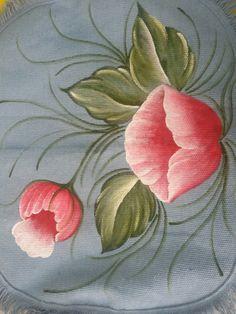 pintura em tecido conjunto de banheiro