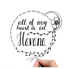 Havana | Camila Cabello #Anna_MaryWhite #Anna_MaryWhiteDrawing