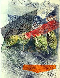 """""""Four Lips """"Collage and monotype 25 X cm Ana Pomar- Monotipos Collage, Blanket, Lips, Painting, Ideas, Printmaking, Colors, Art, Home"""