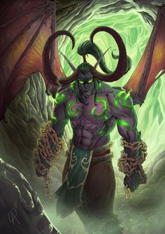 Illidan Stormrage by NinjaMasterTK.deviantart.com on @DeviantArt