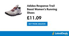 Adidas Response Trail Boost Women's Running Shoes, £11.09 at Amazon