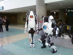 A little different take on Portal cosplay, I love it