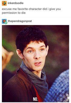 Merlin on Arthur dying x'(