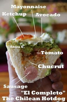 I could eat one of these everyday! South American Dishes, Latin American Food, Latin Food, Chilean Recipes, Chilean Food, Learn To Cook, Food To Make, Chili, Peru