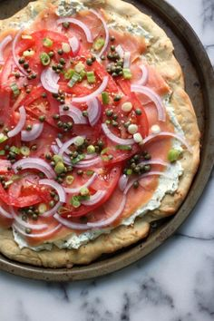 This Everything Bagel & Lox Pizza Combines the Best Things in Life