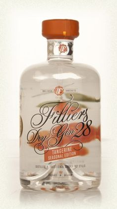 Filliers Jenever Gin And Whisky Distillery > Filliers Dry Gin 28 Seasonal Tangerine Edition Filliers Dry Gin 28 - Seasonal Tangerine Edition...