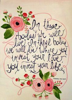 Mumford and Sons' lyrics by BrandeeLynnCreations on Etsy