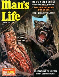 1956 Man's Life Magazine