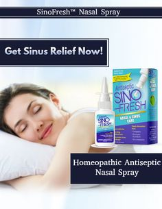 SinoFresh®Homeopathic Nasal Spray is an over-the-counter nasal spray that is changing lives everyday.   Get Sinus Relief Now.  #homeopathicantisepticnasalspray  #sinofresh  #sinuscare  #nasalspray  #sinusheadeche Sinus Spray, Throat Spray, Sinus Problems, Sinus Relief, Blog Topics, A Decade, Side Effects, Counter, Age