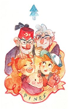 """starstray: """"two sets of Pines twins Gravity Falls has ended. be still my heart """" Monster Falls, Dipper Y Mabel, Mabill, Gravity Falls Art, Reverse Falls, Billdip, Kids Shows, A Cartoon, Anime Manga"""