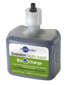 InSinkErator BIOCG Evolution Septic Assist Bio Charge Replacement Cartridge 16Ounces *** To view further for this item, visit the image link.