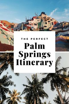 california travel This Palm Springs itinerary shows you all the best things to do, the best places to see, the best day trip and the best hotels in Palm Springs. Perfect for a weekend trip to this desert oasis or a couple of days away with your friends. Palm Springs Hotels, Palm Springs California, California Travel, Southern California, Palm Springs Hiking, Palm Springs Restaurants, Palm Desert California, Places To Travel, Places To See