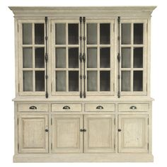 Wayfair's Elodie Hutch Cabinet is very much like the china cabinet David Dikeman left behind at 8600.