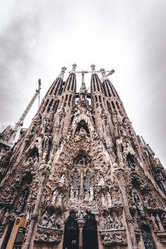 Basílic de la Sagrada La Família in Barcelona, Spain.