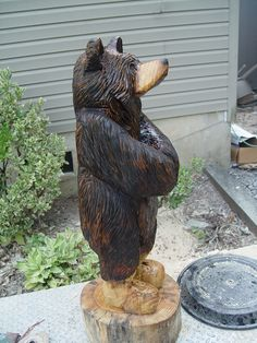carved bears - Google Search