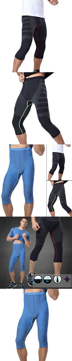 3ac524729 New MA08 Men Carry Buttock Thin Leggings Fast Drying Slimming Compression  Calf-Length Pants Body