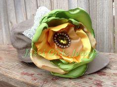 Little Diva Hat w/flower