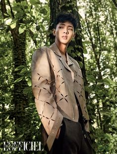 Ji Soo - June issue of L'Offical Hommes