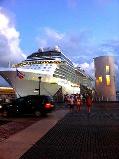 Port of Old San Juan, Puerto Rico  Picture from my friend Manolo Garcia :)