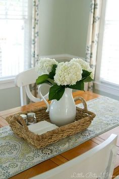 for kitchen table ideas best everyday table centerpieces ideas on table centerpieces for home everyday table decor and kitchen table decor everyday small kitchen table centerpiece ideas Everyday Table Centerpieces, Dining Room Centerpiece, Dining Room Table Centerpieces, Decoration Table, Centerpiece Ideas, Kitchen Table Decor Everyday, Kitchen Table Decorations, Centerpiece Flowers, Kitchen Decor