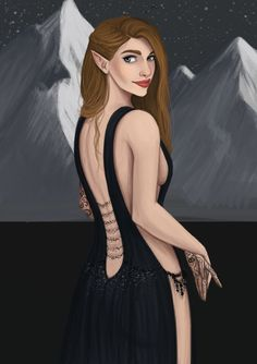 Feyre by AilsaMiller. ACOMAF. A Court of Mist and Fury. Sarah J. Maas