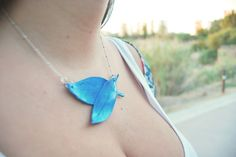 Blue egyptian neckalce