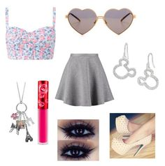 Untitled #44 by sei84 on Polyvore featuring polyvore, beauty, Lime Crime, Wildfox, Disney, Tiger of Sweden and Mudd