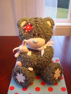 Kantinho da Iara: Confeitaria - Curso bolo esculpido, urso sentado