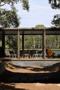 A Bridge-Like Pavilion In The Woods By Alarcia Ferrer Arquitectos | iGNANT.de