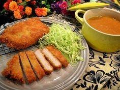 咖喱酥炸豬排(自製蘋果咖喱醬)