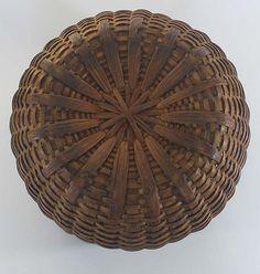 antique taconic baskets   Antique Swing Handle Basket, Taconic