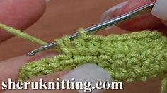 HOW TO HALF DOUBLE CROCHET FOR BEGINNERS Tutorial 9. http://sheruknitting.com/videos-about-knitting/crochet-for-beginners/item/182-how-to-half-double-crochet-for-beginners.html In this tutorial for beginners you will learn how to half double crochet or make a half double crochet stitch .