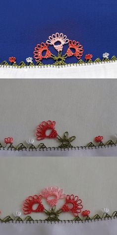 Meistgesuchtes Nadelspitzenmodell im Internet Hand Embroidery, Diy And Crafts, Lace, Fabric, How To Make, Internet, Indian Embroidery, Crochet Flowers, Crocheted Lace