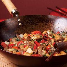 Beef  Red Pepper Stir-Fry Recipe