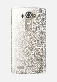 Paisley White LG G4 Case by Aimee St Hill   Casetify