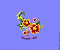 Buy Embroidery flowers on tablecloths design for embroidery.