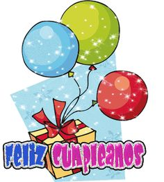 imagenes de cumpleaños con movimientos, tarjetas de cumpleaños animadas, postales de cumpleaños con movimientos